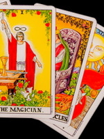 i do tarot cards and also psychic readings at Psychics.com